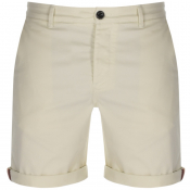Pretty Green Gordon Chino Shorts White
