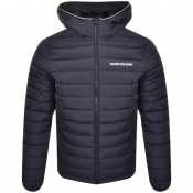 Product Image for Calvin Klein Jeans Hooded Down Jacket Navy