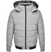 Product Image for Calvin Klein Jeans Hooded Down Jacket Beige