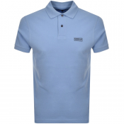Barbour International Essential Polo T Shirt Blue
