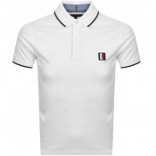 Tommy Hilfiger Slim Polo T Shirt White