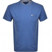 Product Image for Tommy Jeans Washed Logo T Shirt Blue