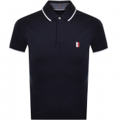 Tommy Hilfiger Slim Polo T Shirt Navy