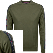 Tommy Hilfiger Lounge Taped Sweatshirt Green