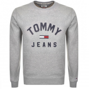 Tommy Jeans Logo Sweatshirt Grey