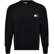 Tommy Jeans Badge Logo Sweatshirt Black