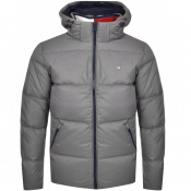 Tommy Jeans Down Jacket Grey