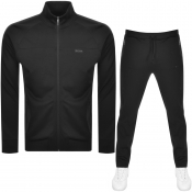 BOSS Athleisure Full Zip Tracksuit Black