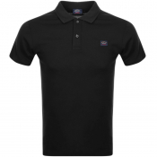Product Image for Paul And Shark Short Sleeved Polo T Shirt Black