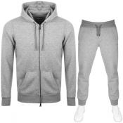 Product Image for Emporio Armani Full Zip Hooded Tracksuit Grey