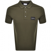 Product Image for Calvin Klein Pique Logo Polo T Shirt Green