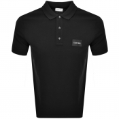 Product Image for Calvin Klein Pique Logo Polo T Shirt Black