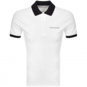 Product Image for Calvin Klein Jeans Contrast Polo T Shirt White