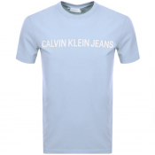 Product Image for Calvin Klein Jeans Institutional T Shirt Blue