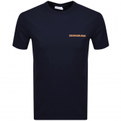 Product Image for Calvin Klein Jeans Small Logo T Shirt Navy
