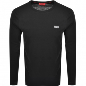 HUGO Derol 194 T Shirt Black