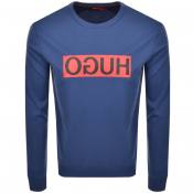 Product Image for HUGO Dicago 194 Sweatshirt Blue