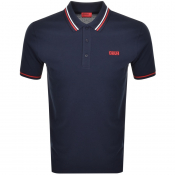 Product Image for HUGO Daruso 194 Polo T Shirt Navy