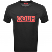 Product Image for HUGO Dicagolino 194 T Shirt Black