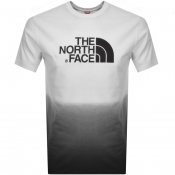 The North Face Dip Dye T Shirt White