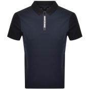 Product Image for Armani Exchange Short Sleeved Polo T Shirt Navy