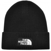 The North Face Logo Beanie Hat Black