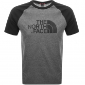 The North Face Raglan Easy T Shirt Grey