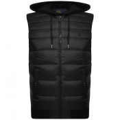 Product Image for Ralph Lauren Hooded Down Gilet Black