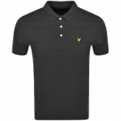 Lyle And Scott Polo T Shirt Grey