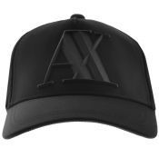 Armani Exchange Logo Cap Black