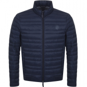 Product Image for Armani Exchange Quilted Down Jacket Navy