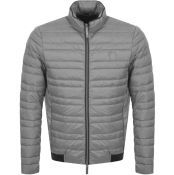 Product Image for Armani Exchange Quilted Down Jacket Grey