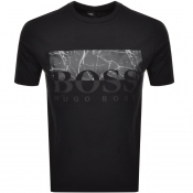 BOSS Casual Trek 4 T Shirt Black