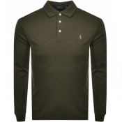 Product Image for Ralph Lauren Long Sleeved Polo T Shirt Green