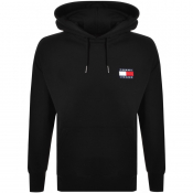 Tommy Jeans Badge Hoodie Black
