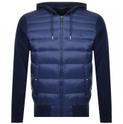 Ralph Lauren Hooded Down Jacket Navy