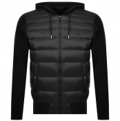 Ralph Lauren Hooded Down Jacket Black