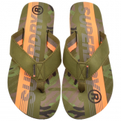 Product Image for Superdry Trophy 2.0 Flip Flops Khaki