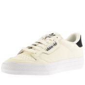 adidas Originals Continental Vulc Trainers Cream
