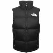The North Face Nuptse Down Gilet Black