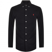 Product Image for Ralph Lauren Long Sleeved Corduroy Shirt Black