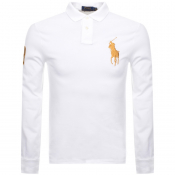 Product Image for Ralph Lauren Long Sleeved Polo T Shirt White