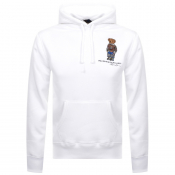 Product Image for Ralph Lauren Polo Bear Pullover Hoodie White