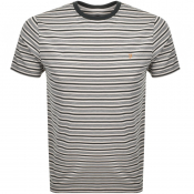 Product Image for Farah Vintage Reeth Stripe T Shirt Green