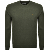 Product Image for Farah Vintage Tim Sweatshirt Green
