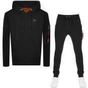 Product Image for Alpha Industries X Fit Slim Tracksuit Black