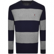 Ralph Lauren Knit Jumper Navy