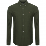 Farah Vintage Brewer Shirt Green