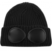 Product Image for CP Company Goggle Beanie Hat Black
