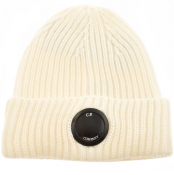 Product Image for CP Company Goggle Beanie Hat Cream